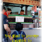 Be a hawker to escape job stress?